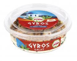 Popp Gyros Salat mit Kraut + Tzatziki