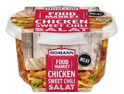 Homann Food Market Chicken Sweet Chili Salat
