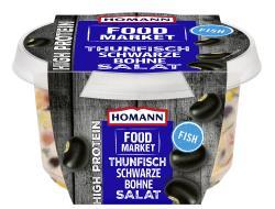 Homann Food Market High Protein Thunfisch Schwarze Bohne Salat