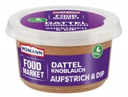 Homann Food Market Brotaufstrich Dattel Knoblauch