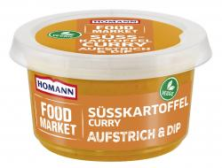 Homann Food Market Brotaufstrich Süßkartoffel Curry