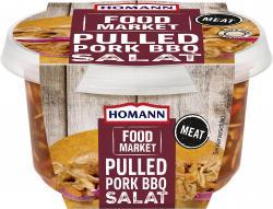 Homann Food Market Brotaufstrich Pulled Pork BBQ Salat
