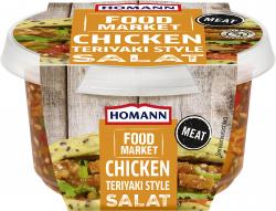 Homann Food Market Chicken Teriyaki Salat