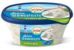 Popp Dill-Sahne-Heringsfilets