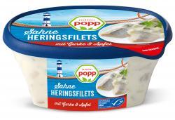 Popp Feinkost Sahne-Heringsfilets