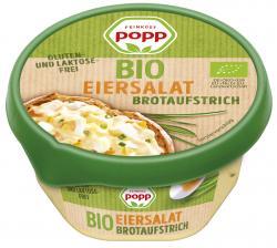 Popp Bio Brotaufstrich Eiersalat