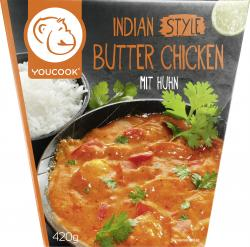 Youcook Indisches Butter Chicken