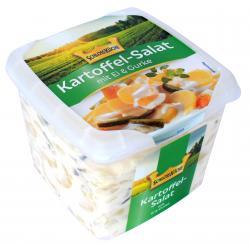 Schloss Küche Kartoffelsalat mit Ei und Gurke