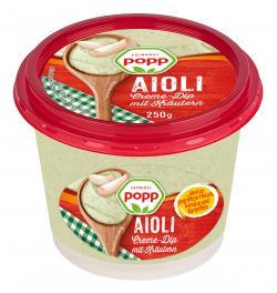 Popp Kräuter Aioli Creme