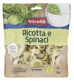 Hilcona Tortelloni gefüllt Ricotta e Spinaci