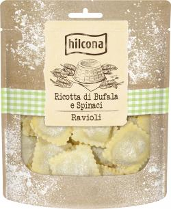 Hilcona Ravioli Ricotta di Bufala e Spinaci