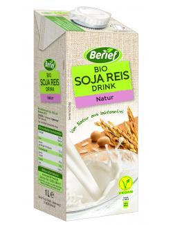 Berief Bio Soja Reis Drink