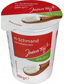 Jeden Tag H-Schmand 24% (200 g) - 4306188358992