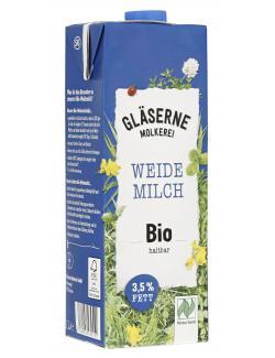 Gläserne Molkerei Haltbare Bio-Vollmilch 3,8%