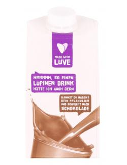 Made with Luve Lupinen Drink Schokolade (500 ml) - 4260248511058