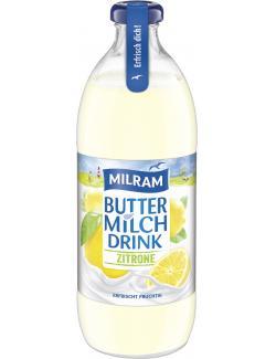 Milram Buttermilch Drink Zitrone