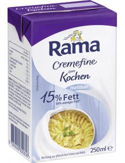 Rama Cremefine zum Kochen Haltbar 15% Fett