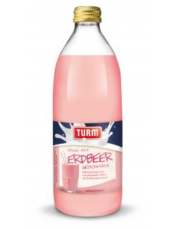 Turm Drink mit Erdbeergeschmack