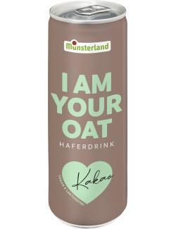 Münsterland I am Your Oat Haferdrink Kakao