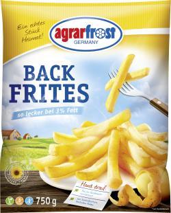 Agrarfrost Back Frites