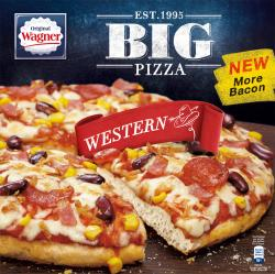 Original Wagner Big Pizza Western (420 g) - 4009233012107