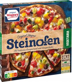 Original Wagner Steinofen Pizza Vegetaria