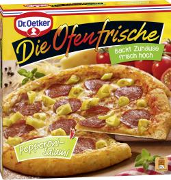 Dr. Oetker Die Ofenfrische Pizza Pepperoni-Salami