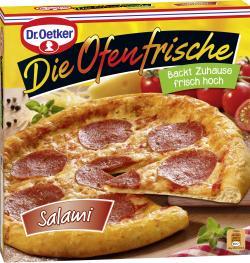 Dr. Oetker Die Ofenfrische Pizza Salami