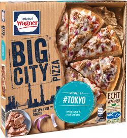 Original Wagner Big City Pizza Thunfisch