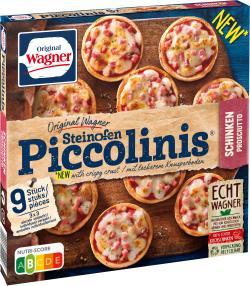 Original Wagner Pizza Steinofen Piccolinis Schinken