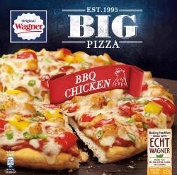 Original Wagner Big Pizza BBQ-Chicken (420 g) - 4009233012084