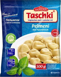 Dovgan Taschki Pelmeni mit Putenfleisch (500 g) - 4032549002432