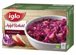 Iglo Apfel-Rotkohl traditionelle Art (750 g) - 4056100045485