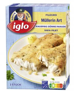 Iglo Filegro Müllerin Art
