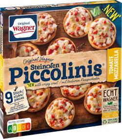Original Wagner Pizza Steinofen Piccolinis Tomate-Mozzarella