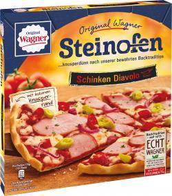 Original Wagner Steinofen Pizza Schinken Diavolo