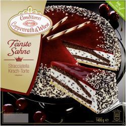 Coppenrath & Wiese Feinste Sahne Stracciatella Kirsch-Torte