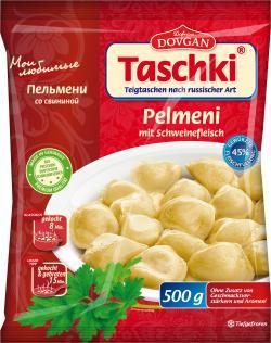 Dovgan Taschki Pelmeni mit Schweinefleisch