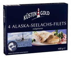 Küstengold Alaska Seelachs-Filets (400 g) - 4005979003935