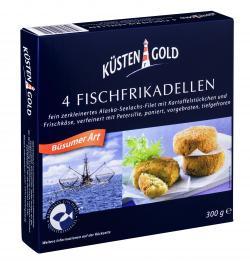 Küstengold Fischfrikadellen Büsumer Art (300 g) - 4005979004031