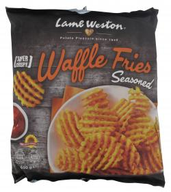 Lamb Weston Waffle Fries Seasoned (600 g) - 8711571012119