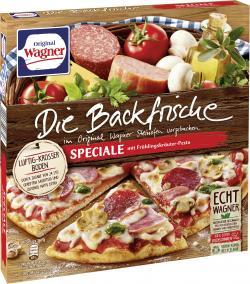 Original Wagner Die Backfrische Speciale Pizza mit Frühlingskräuter-Pesto