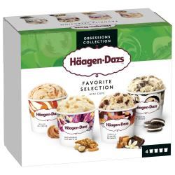 Häagen-Dazs Eiscreme Favorite Selection
