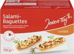 Jeden Tag Salami-Baguettes (6 x 125 g) - 4306188822011