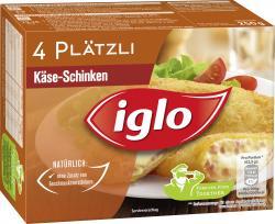 Iglo Plätzli Käse-Schinken (250 g) - 4250241200776