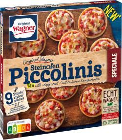 Original Wagner Pizza Steinofen Piccolinis Speciale