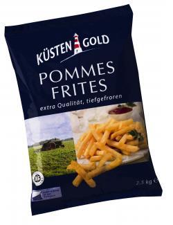 Küstengold Pommes Frites (2,50 kg) - 4250426206074