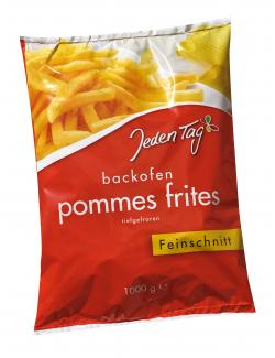 Jeden Tag Backofen Pommes Frites Feinschnitt