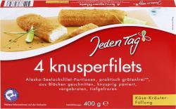 Jeden Tag Knusperfilets Käse-Kräuter (400 g) - 4306188049821