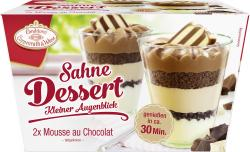 Coppenrath & Wiese Kleiner Augenblick Mousse au Chocolat (2 x 90 g) - 4008577000801